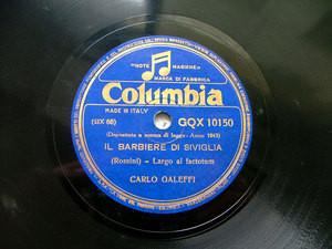 CARLO GALEFFI barit COLUMBIA 10150 12'' 78 FAUST