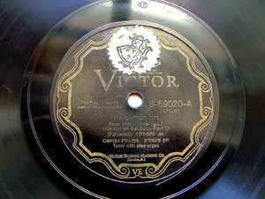 PIERRE PINCHIK Scr VICTOR 8-59020 JEWISH 78rpm