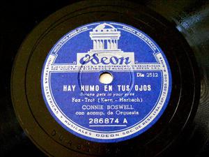 CONNIE BOSWELL Odeon 286874 JAZZ 78rpm EN LA ISLA MAYO