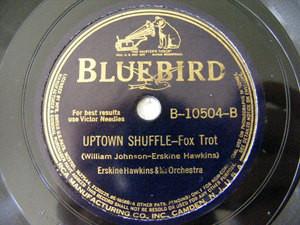 ERSKINE HAWKINS & D. BROWN Bluebird 10504 JAZZ 78rpm
