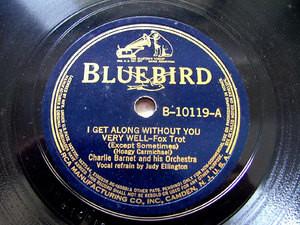 CHARLIE BARNET & His Orch BLUEBIRD B-10119 JAZZ 78rpm