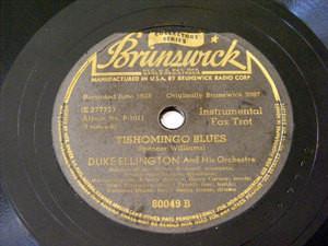 DUKE ELLINGTON Brunswick 80049 JAZZ 78rpm YELLOW DOG B