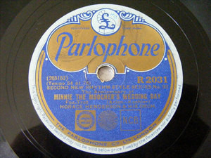 E. CONDON / H. HENDERSON Parlophone 2031 JAZZ 78rpm