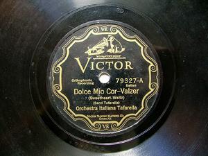 ORQ ITALIANA TAFARELLA Scr Victor 79327 ITALIAN 78rpm