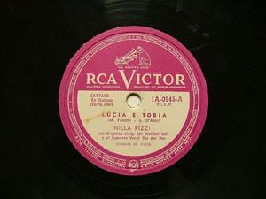 NILLA PIZZI Arg VICTOR 1A-0945 ITALIAN 78rpm LUCIA E TOBIA
