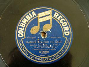 FRANCESCO DADDI ten COLUMBIA 12'' 78rpm - Mamma Mia..