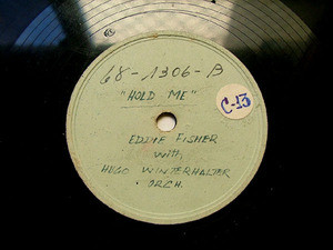 EDDIE FISHER Rare Arg TEST PRESSING 68-1306 CHEEK TO CHEEK