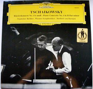 RICHTER & KARAJAN DGG 138822 TSCHAIKOVSKY No.1 LP