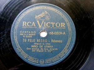 NIÑO DE UTRERA Victor 68-0509 78rpm DOS RECUERDOS