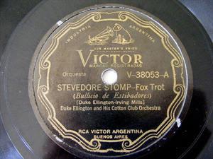 DUKE ELLINGTON Scr VICTOR V-38053 78rpm THE DICTY GLIDE