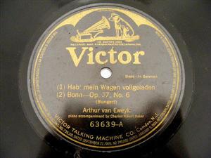 ARTHUR VAN EWEYK Victor 63638 OPERA 78rpm HINUNTER