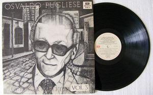 OSVALDO PUGLIESE Obras Completas Vol.3 EMI 5210 TANGO 2xLP 1946