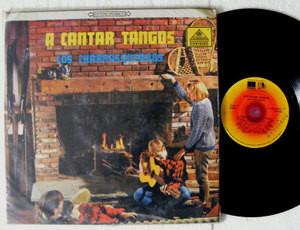 LOS CHARRASQUEADOS A Cantar Tangos ZEIDA 20370 COLOMBIA LP