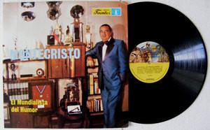 MONTECRISTO El Mundialista Del Humor FUENTES 201233 Colombian Comic LP 1979