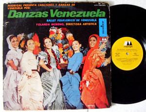 BALLET FOLKLORICO DE VENEZUELA Danzas MADRIGAL 1011 Argentina LP