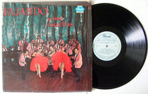 FAJARDO y Sus ESTRELLAS Vol III PANART 3044 Usa LP