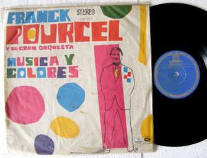 FRANCK POURCEL Musica Y Colores ODEON 2016 Uruguay Rare LP