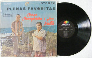 CESAR CONCEPCION & JOE VALLE Plenas Favoritas ANSONIA 1305 Usa LP