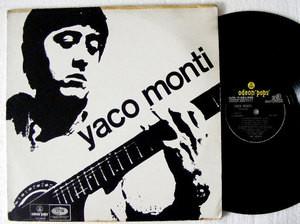 YACO MONTI Odeon Pops 4324 RARE ARG LP