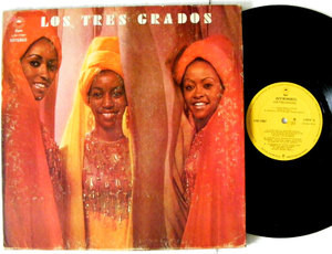 THE THREE DEGREES LOS TRES GRADOS Epic 17087 MEXICO Rare Label LP 1974