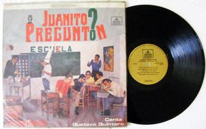 LOS GRADUADOS GUSTAVO QUINTERO Juanito Pregunton CODISCOS 20424 COLOMBIA LP