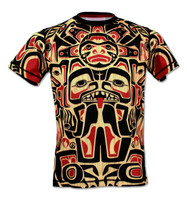 INKnBURN Mens Athletic Shirt Haida - Front