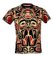 INKnBURN Mens Athletic Shirt Haida - Front