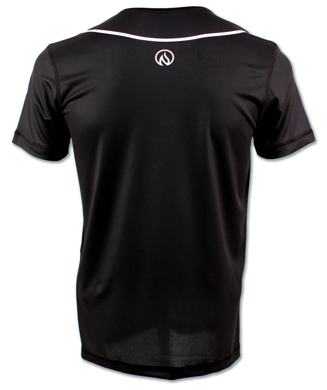 INKnBURN Mens Tuxedo Running Shirt - Back