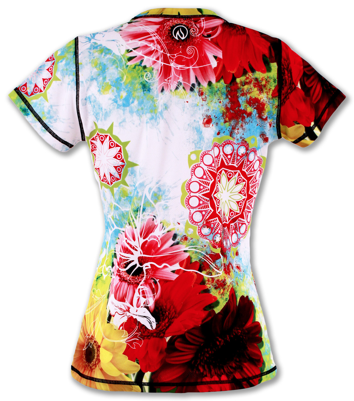 Women's Wildflower Tech Shirt Back