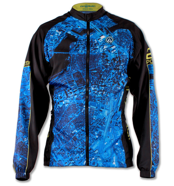 Women's 2015 Boston Windbreaker Jacket Front