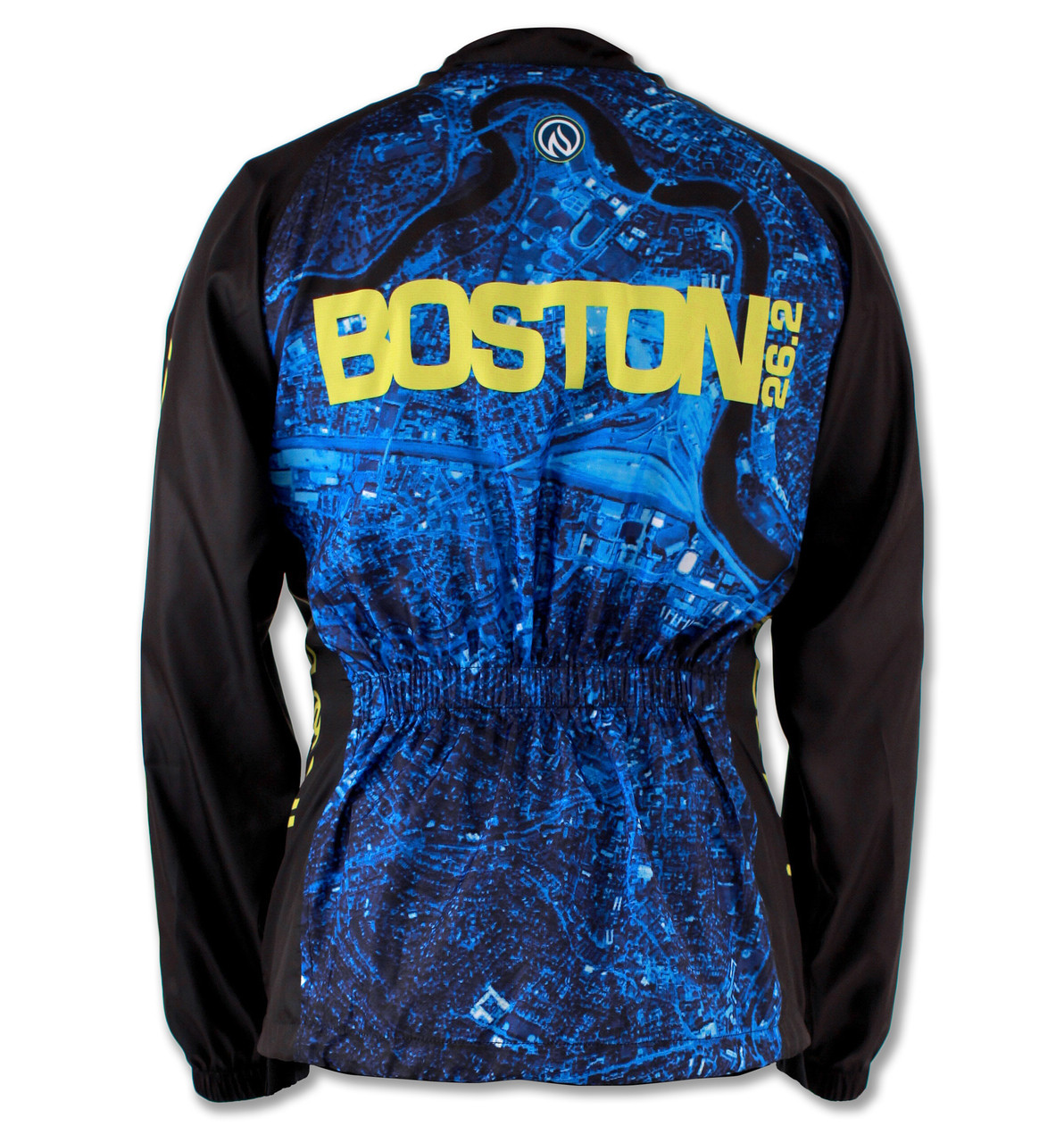 Women's 2015 Boston Windbreaker Jacket Back
