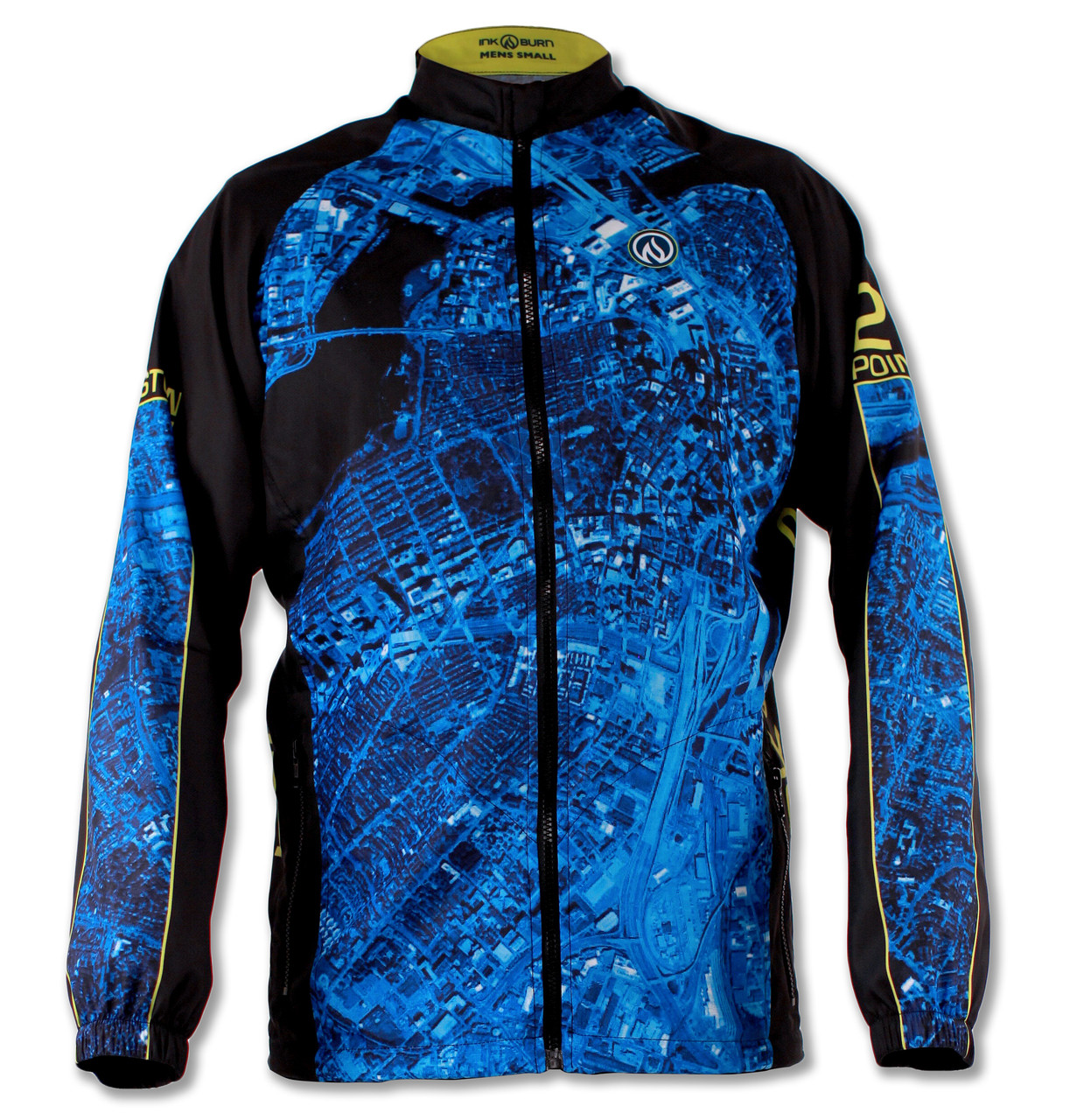 Men's 2015 Boston Windbreaker Jacket Front