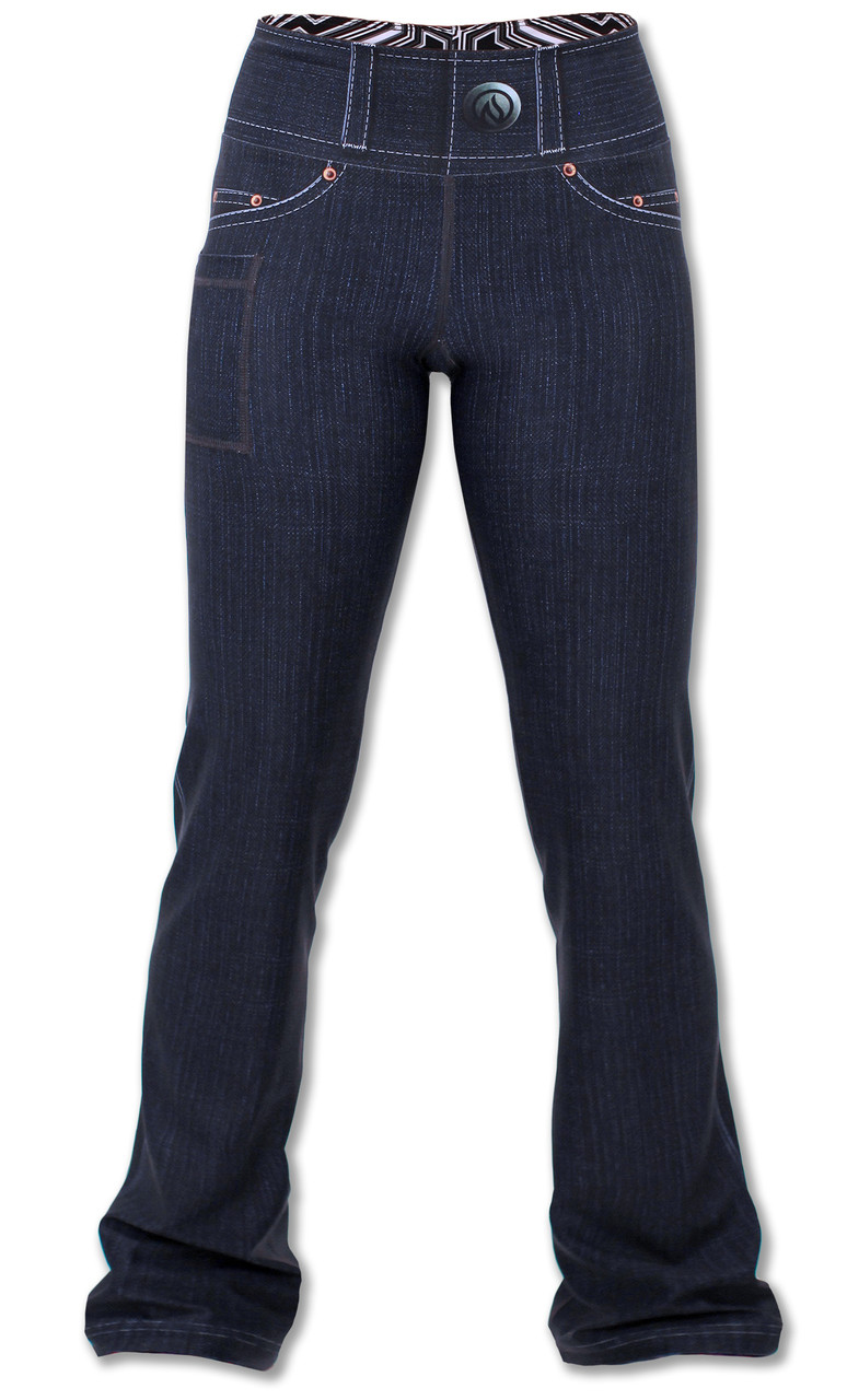 INKnBURN 210 Peformance Denim Pants Front