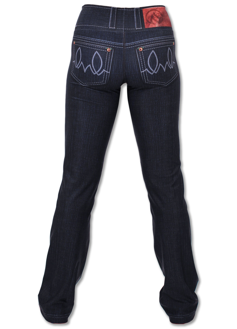 INKnBURN 210 Peformance Denim Pants Back