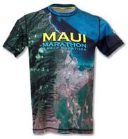 INKnBURN Women's Maui Marathon Tech Shirt Back