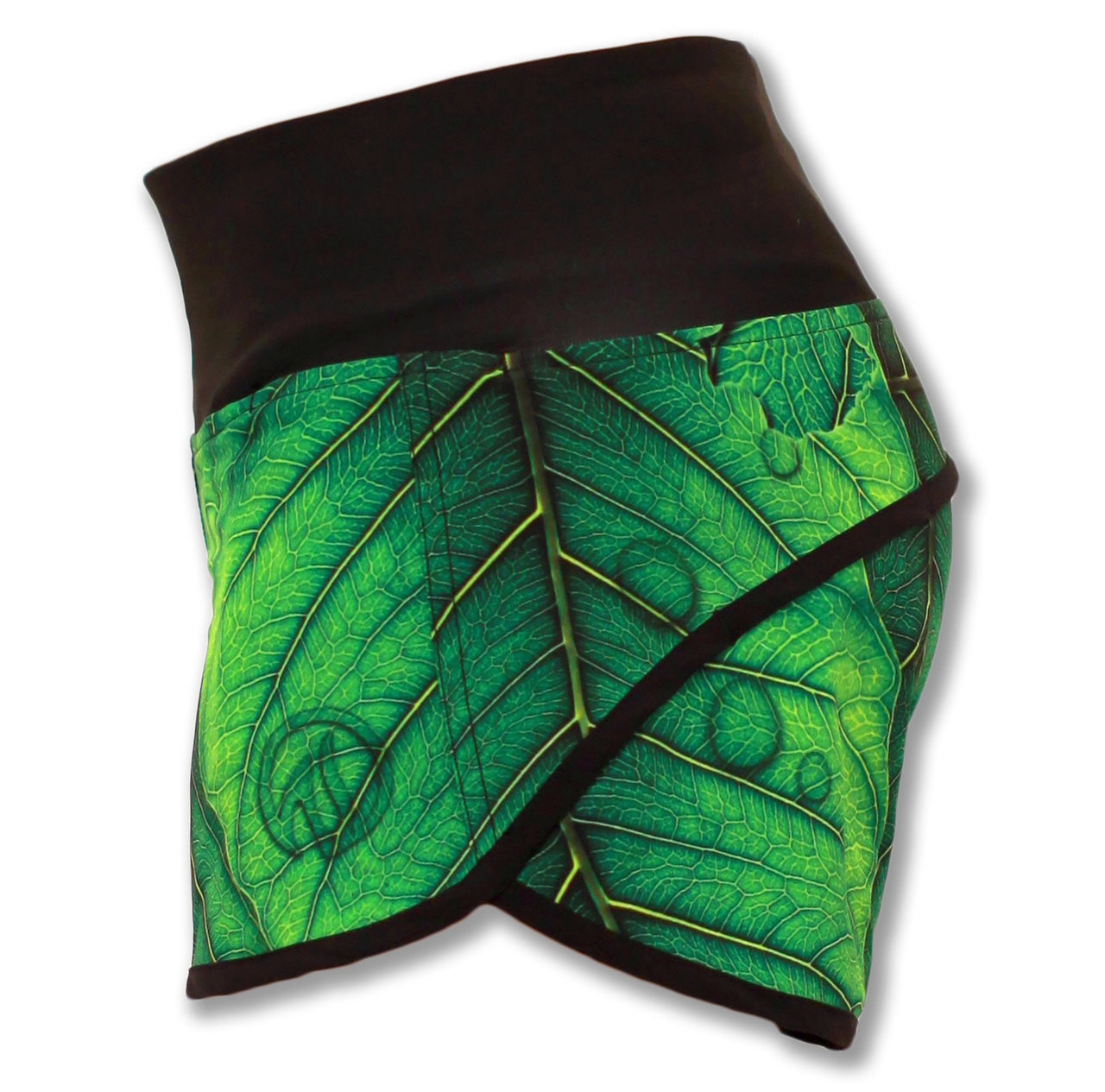 "INKnBURN ""A New Leaf"" Shorts Side View Waistband Up"
