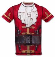 INKnBURN Men's Pirate Tech Shirt Front