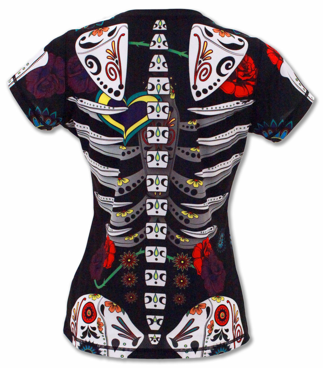 INKnBURN Women's Calavera Tech Shirt Back