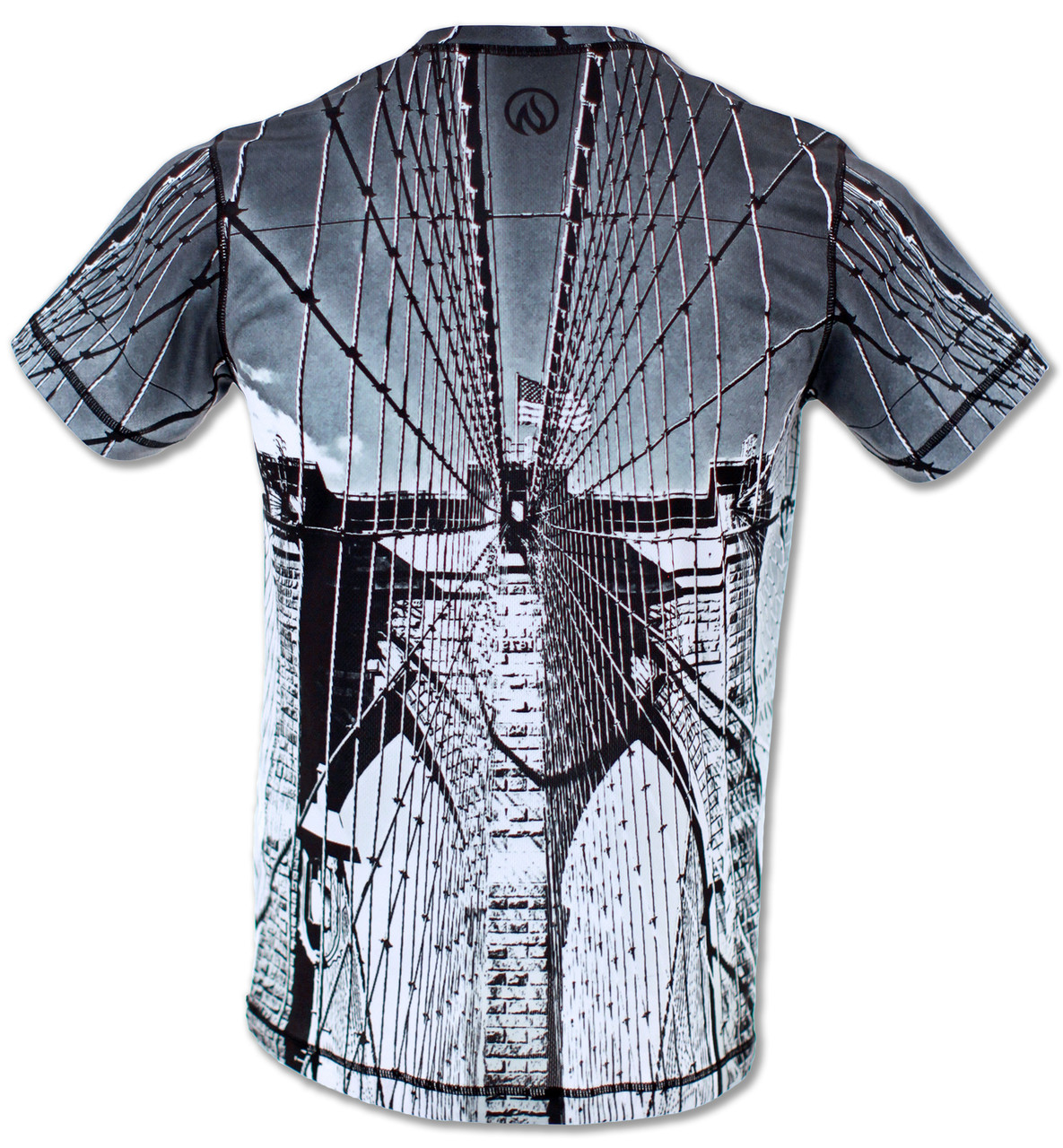 INKnBURN Men's Tribute Tech Shirt Front
