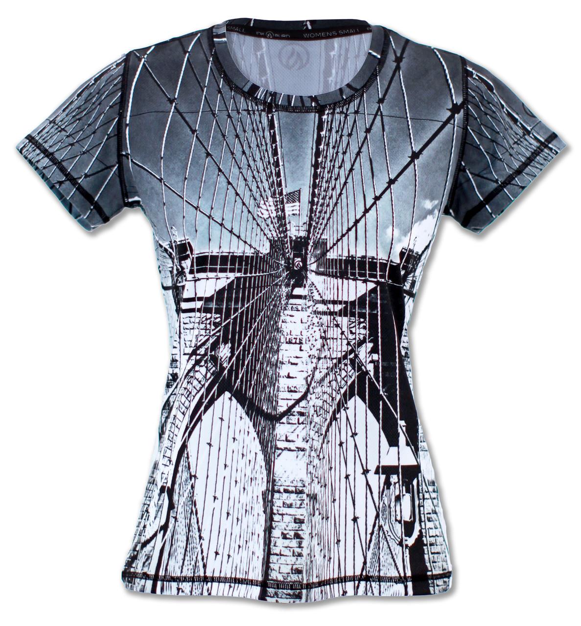 INKnBURN Women's Tribute Tech Shirt Front