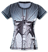 INKnBURN Women's Tribute Tech Shirt Front