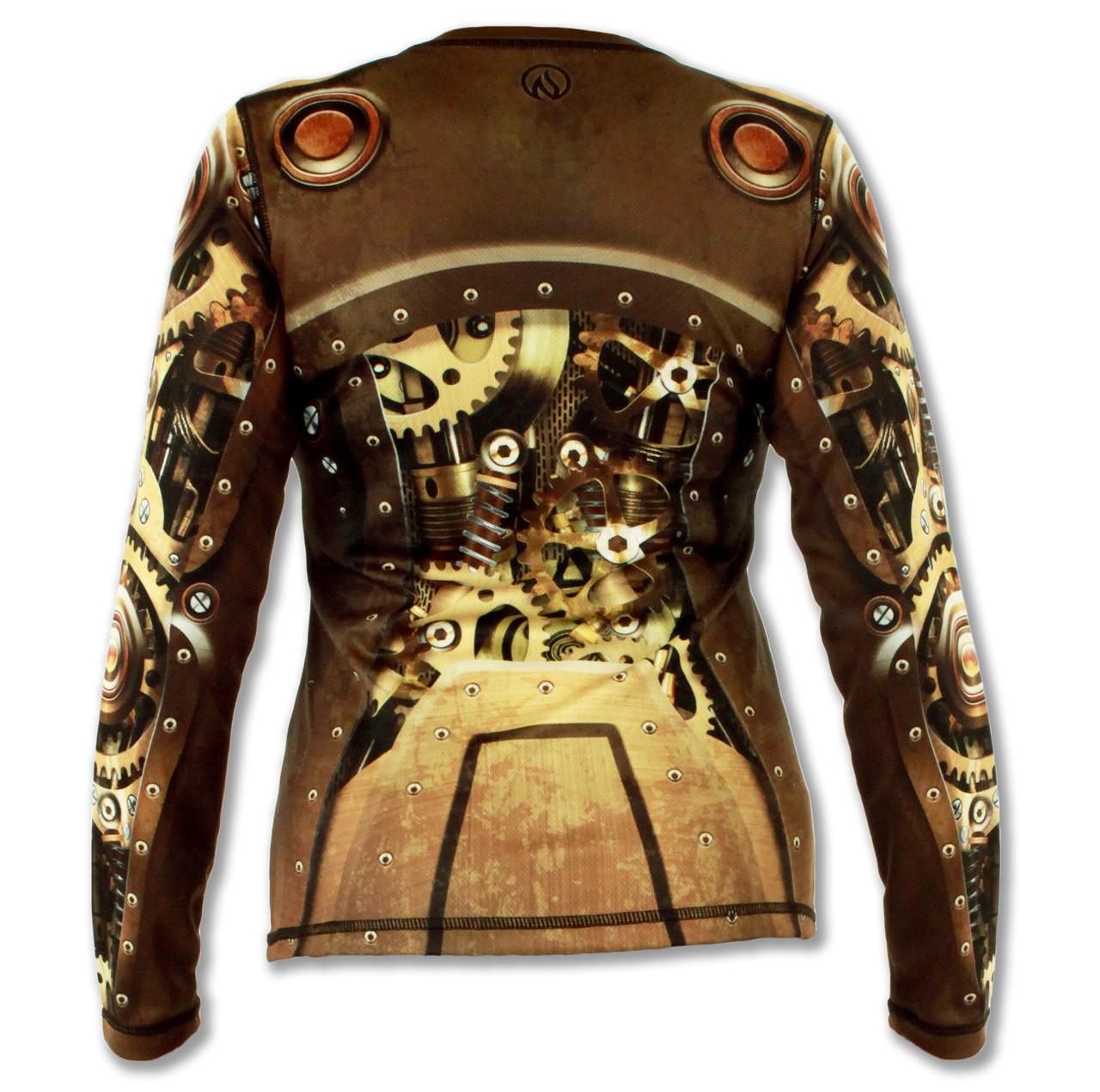 INKnBURN Women's Steampunk Tech Shirt Back