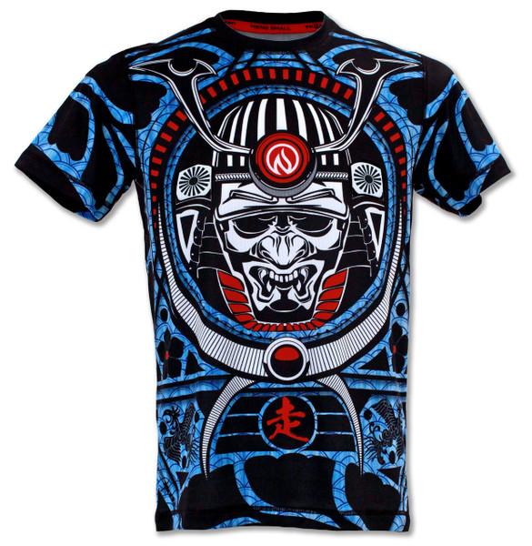 INKnBURN Men's Warrior Run or Die Tech Shirt Front