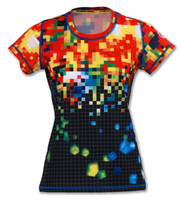 INKnBURN Women's Pixel Tech Shirt Front