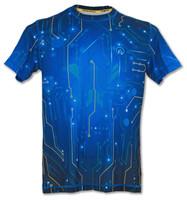 INKnBURN Men's Circuit Tech Shirt Front