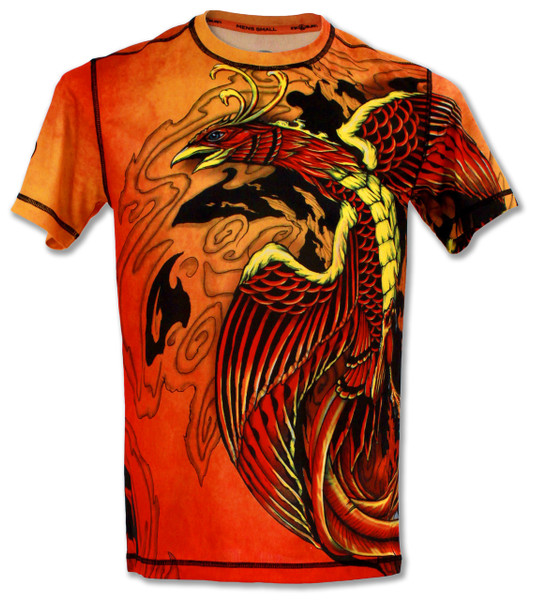 INKnBURN Men's Phoenix Tech Shirt Front