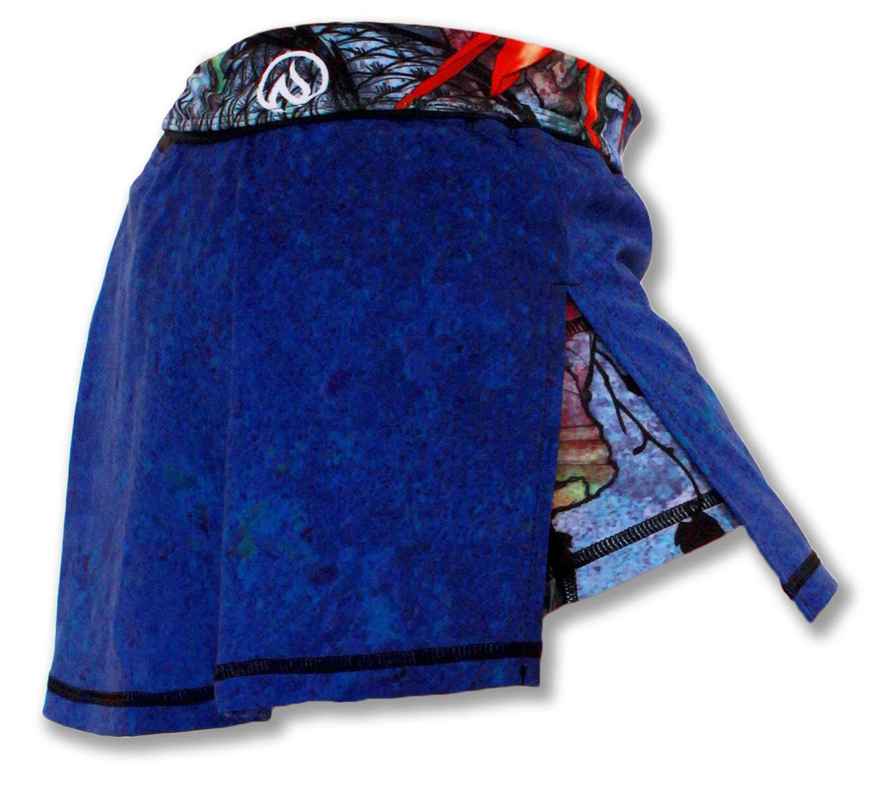 INKnBURN Women's Ryu Skirt Right Side Waistband Folded Down