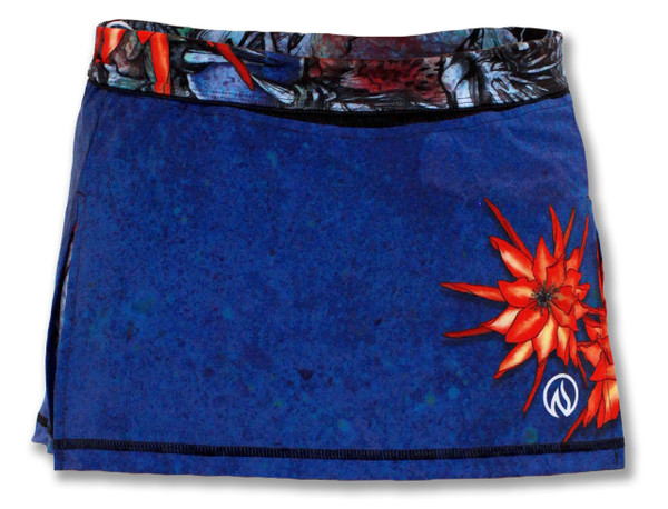 INKnBURN Women's Ryu Skirt Front Waistband Folded Down