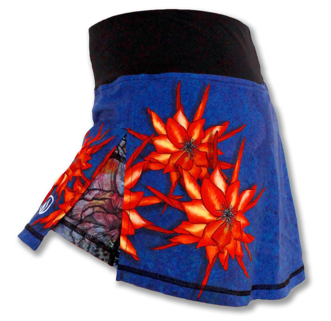 INKnBURN Women's Ryu Skirt Left Side Waistband Up