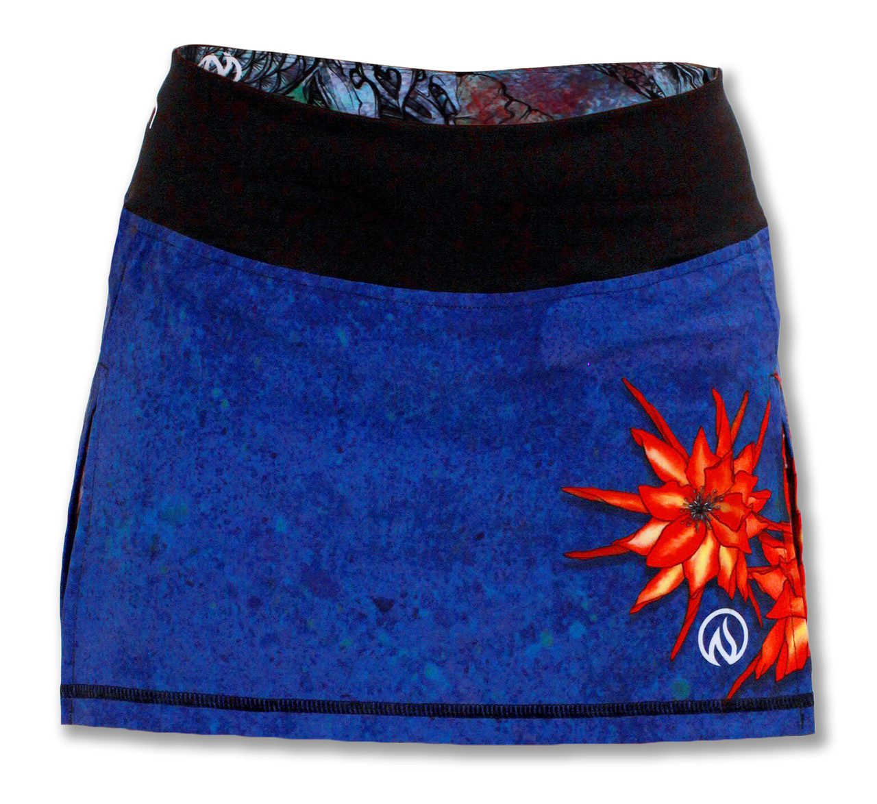 INKnBURN Women's Ryu Skirt Front Waistband Up